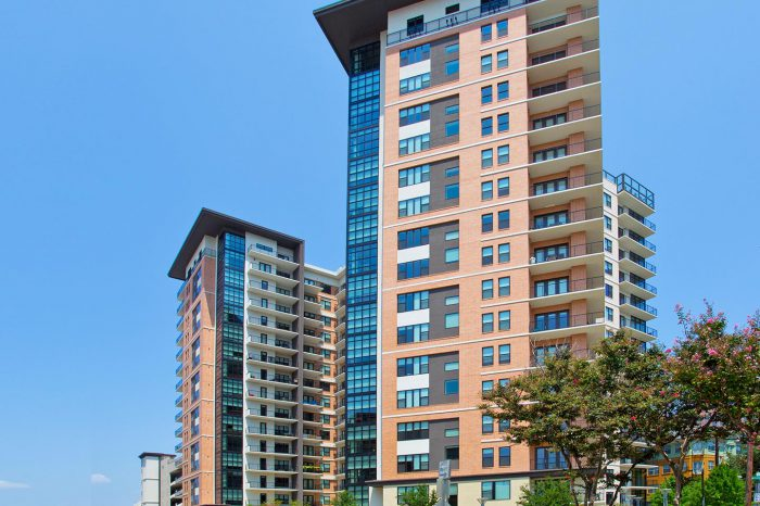 The Taylor luxury high rise apartment tower