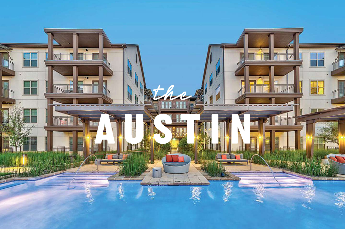 The Austin Trinity Groves Dallas Apartment StreetLights Residentail