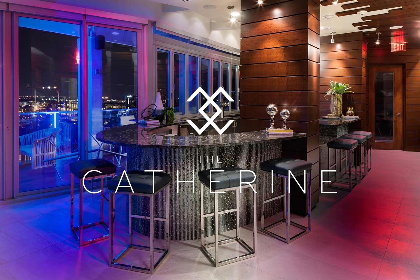 The Catherine High Rise Apartment Amenity Space