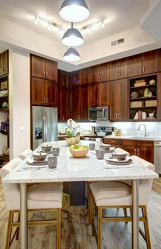 The Maxwell Frisco Texas Multifamily Developer StreetLights Residential Kitchen