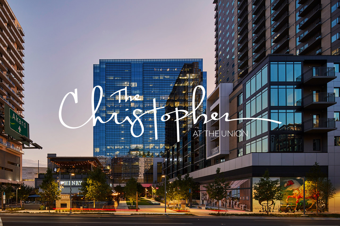The Christopher at The Union Dallas Texas Multifamily Development